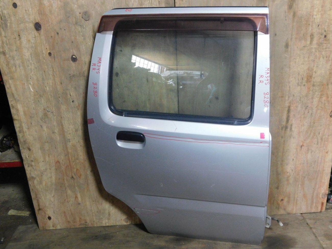 Дверь Suzuki Wagon R Solio MA34S M13A задняя правая (б/у)