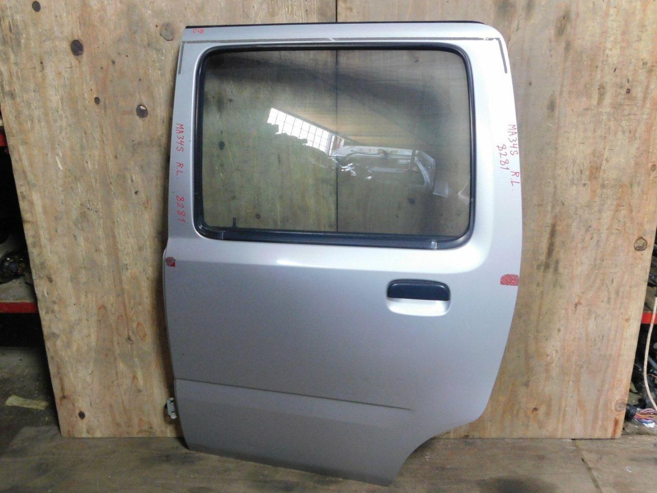 Дверь Suzuki Wagon R Solio MA34S M13A задняя левая (б/у)