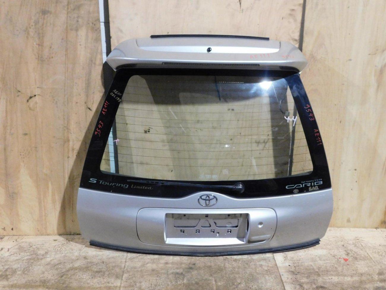 Дверь 5-я Toyota Carib AE111 (б/у)