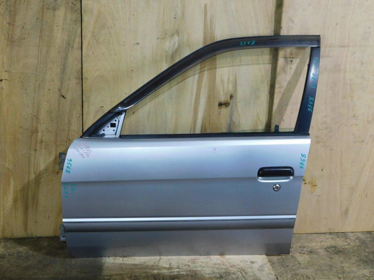 Дверь Toyota Tercel EL51 передняя левая (б/у)