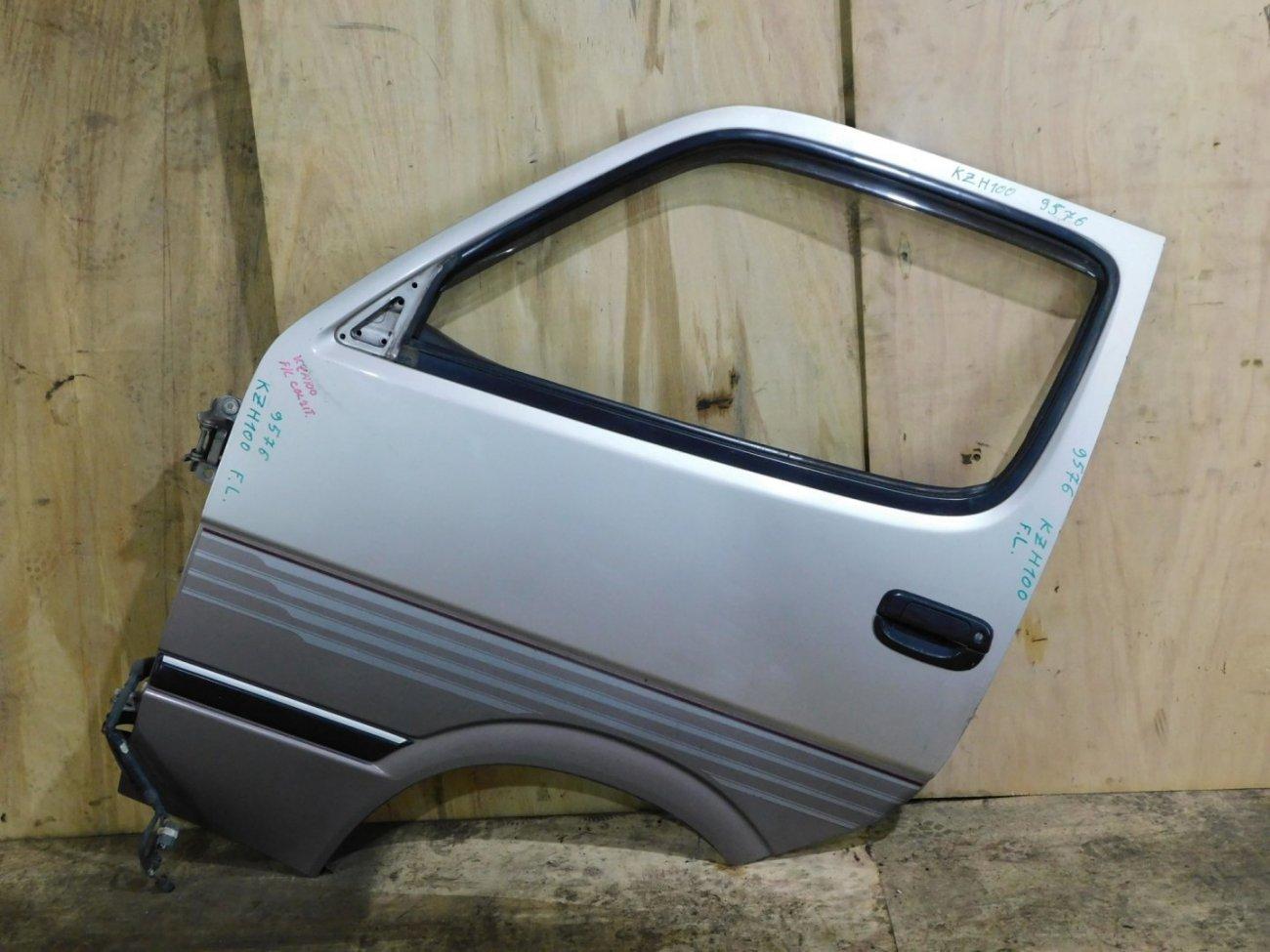 Дверь Toyota Hiace KZH100 передняя левая (б/у)