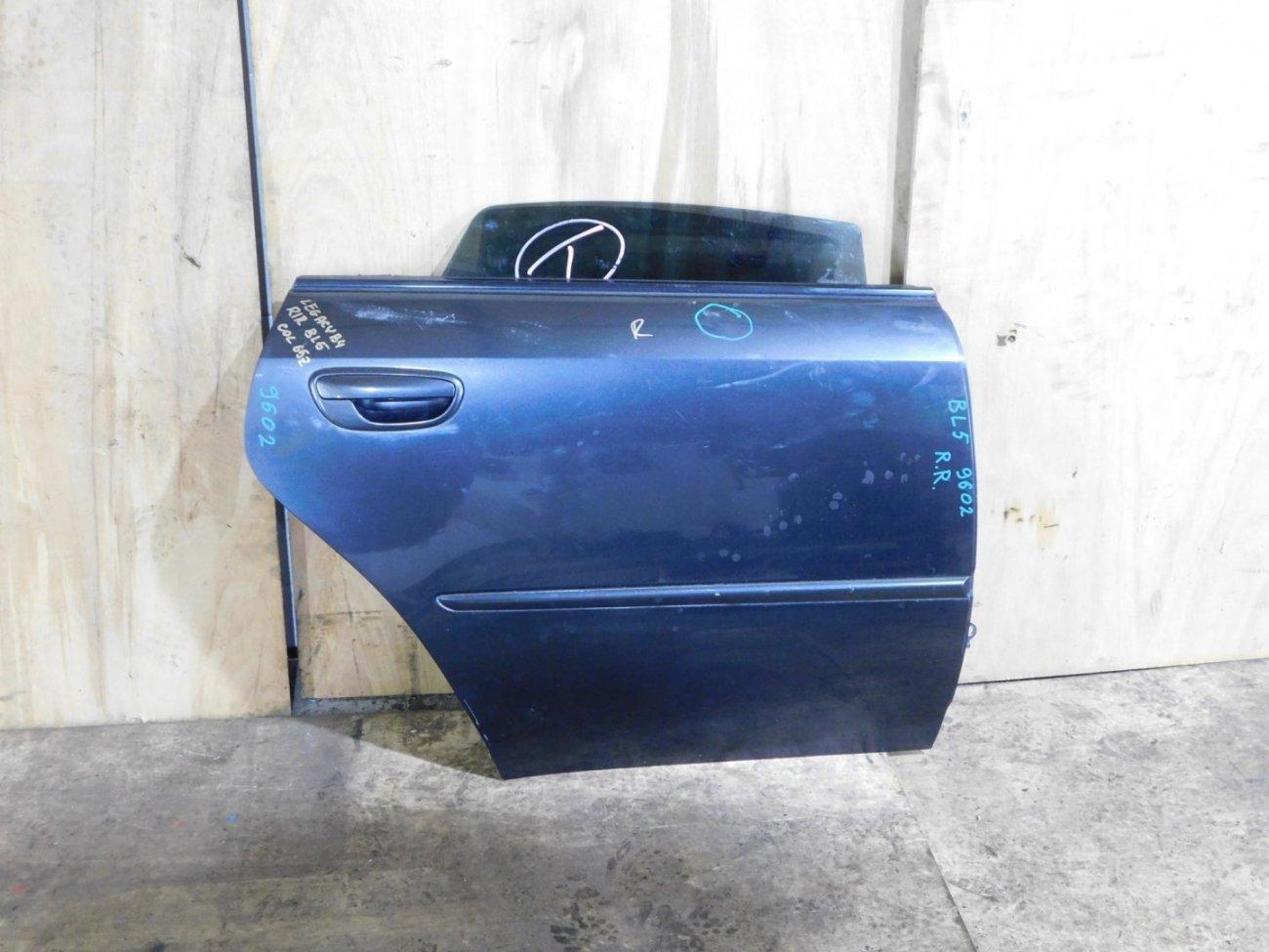 Дверь Subaru Legacy B4 BL5 задняя правая (б/у)