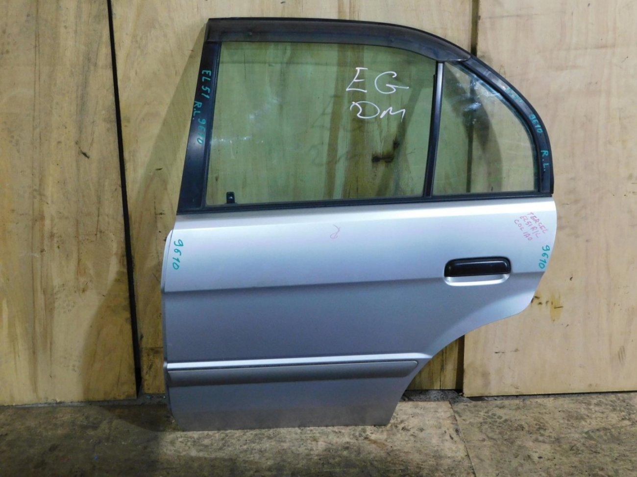 Дверь Toyota Tercel EL51 задняя левая (б/у)