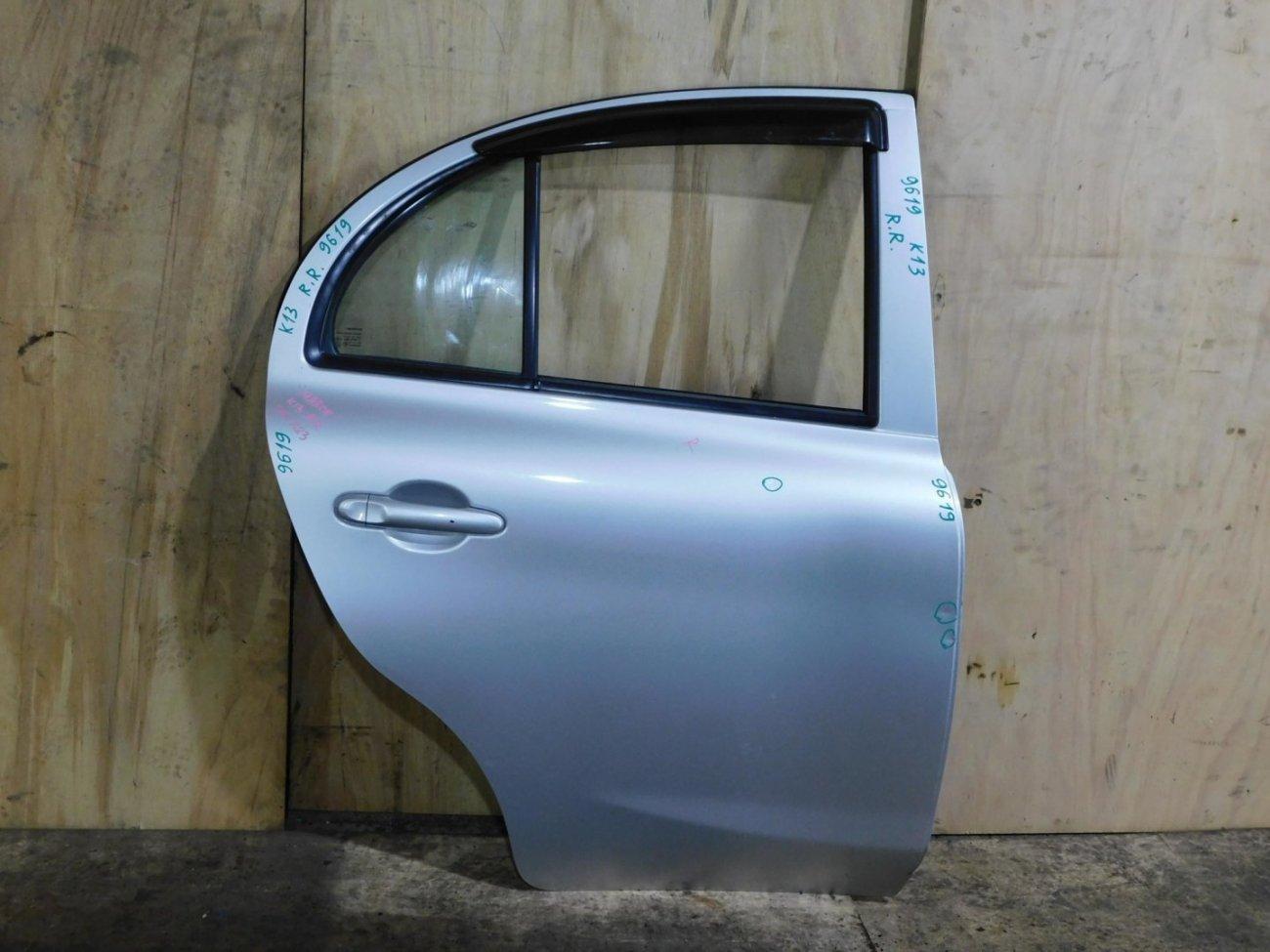 Дверь Nissan March K13 задняя правая (б/у)