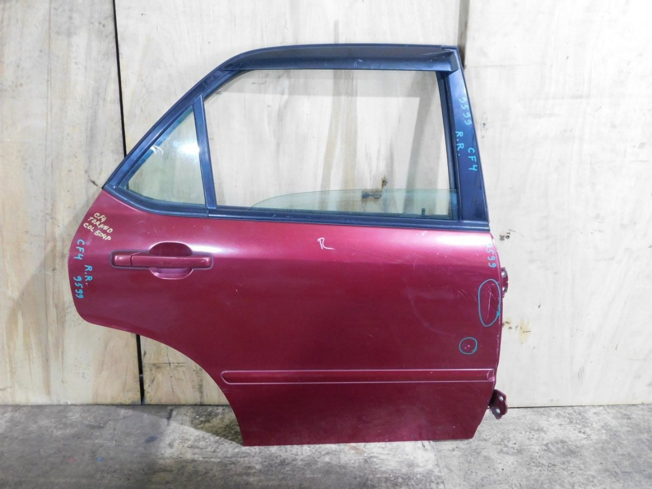 Дверь Honda Torneo CF4 задняя правая (б/у)