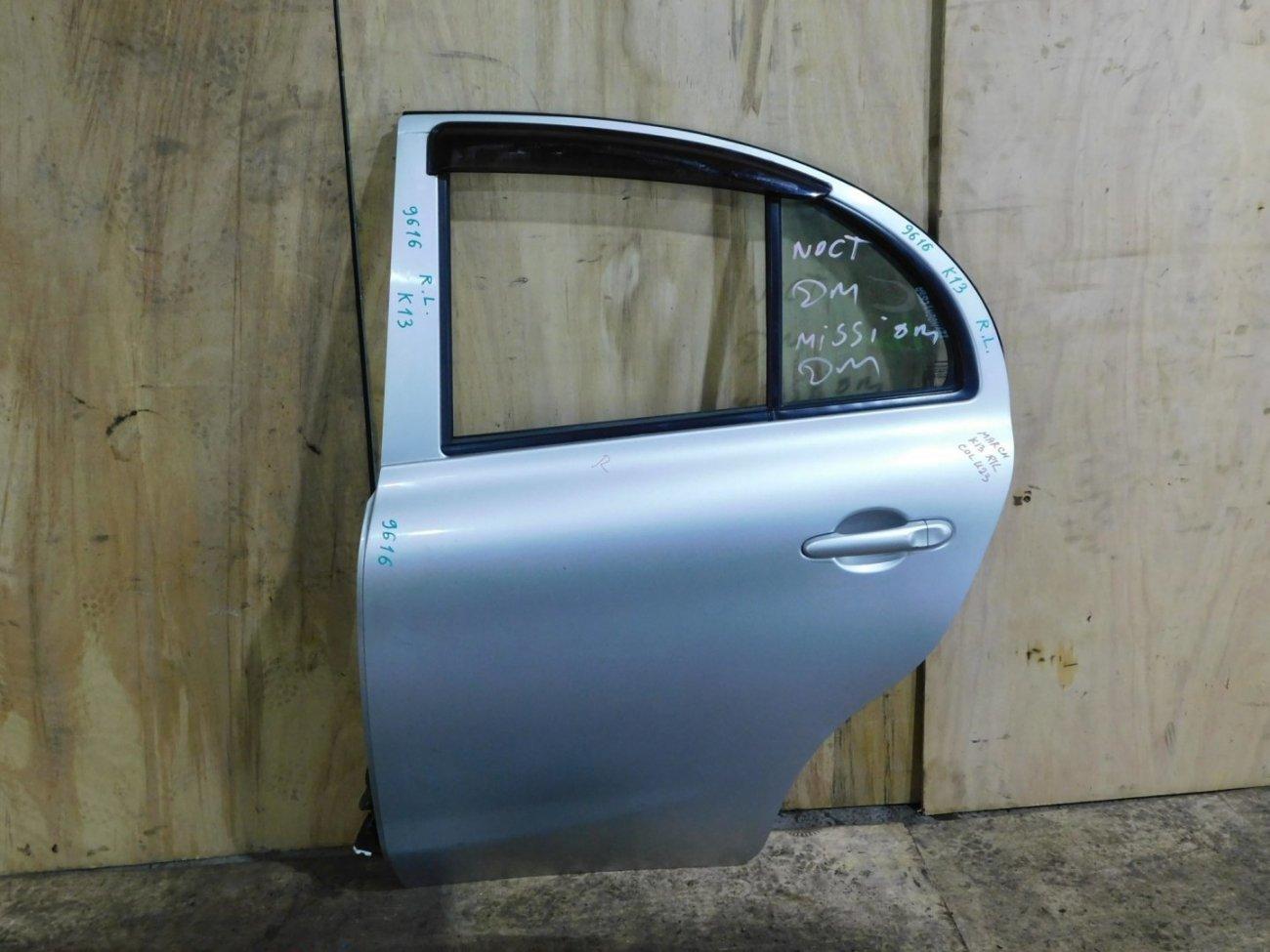 Дверь Nissan March K13 задняя левая (б/у)