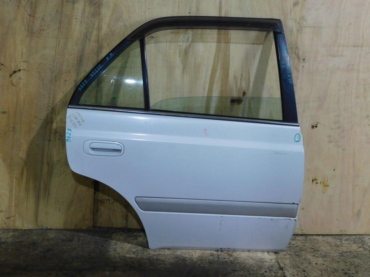 Дверь Toyota Corona Premio AT210 задняя правая (б/у)