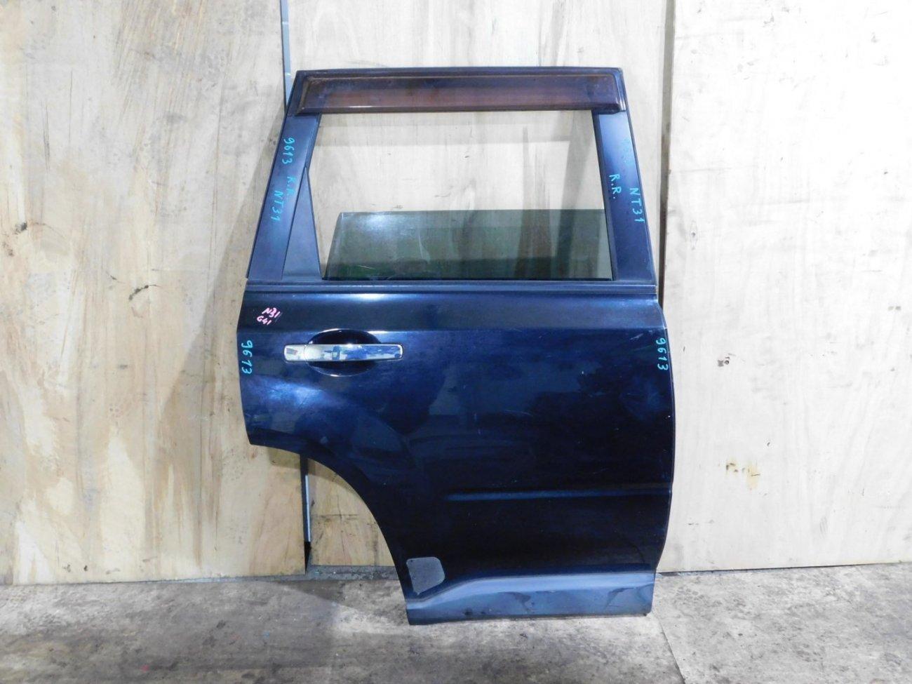 Дверь Nissan X-Trail NT31 задняя правая (б/у)