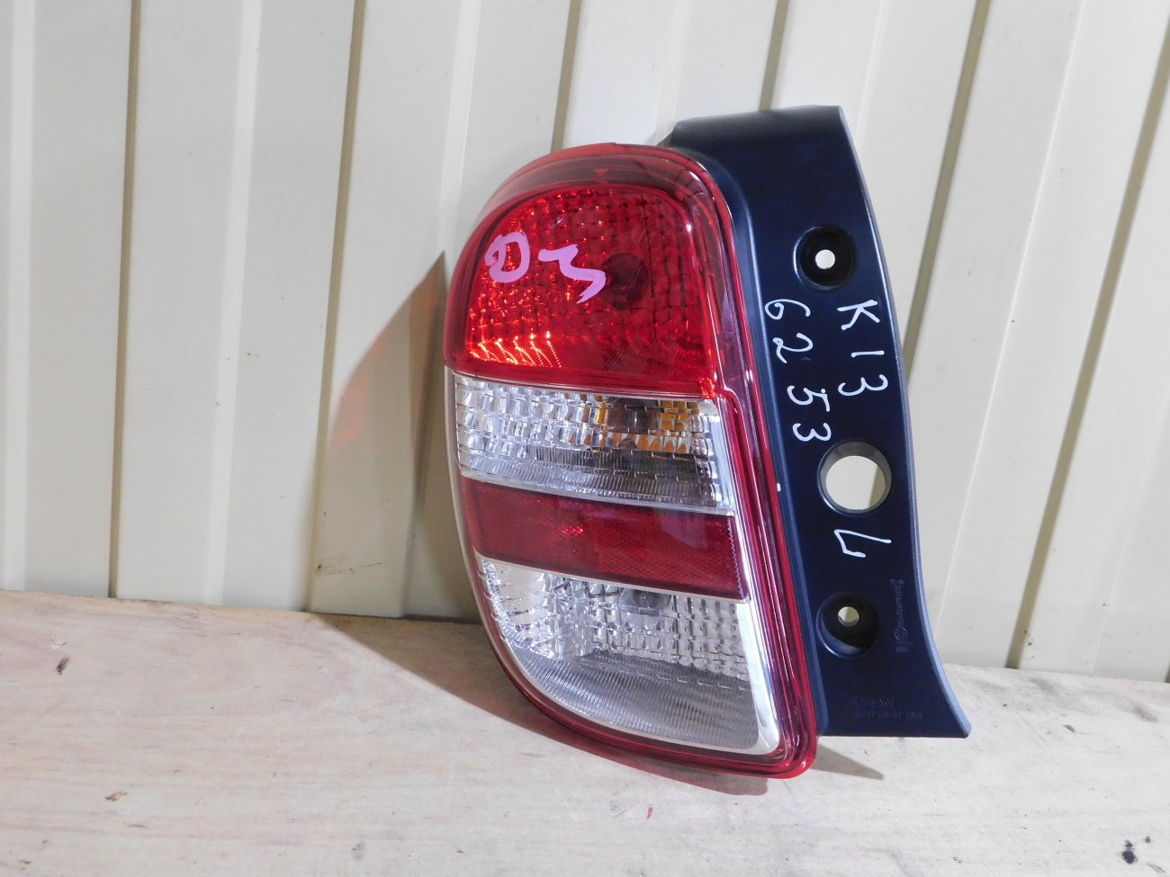Стоп-сигнал Nissan March K13 HR12DE задний левый (б/у)
