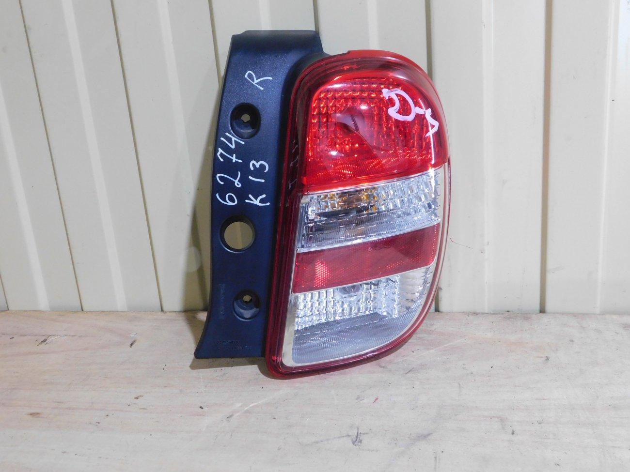 Стоп-сигнал Nissan March K13 HR12DE задний правый (б/у)