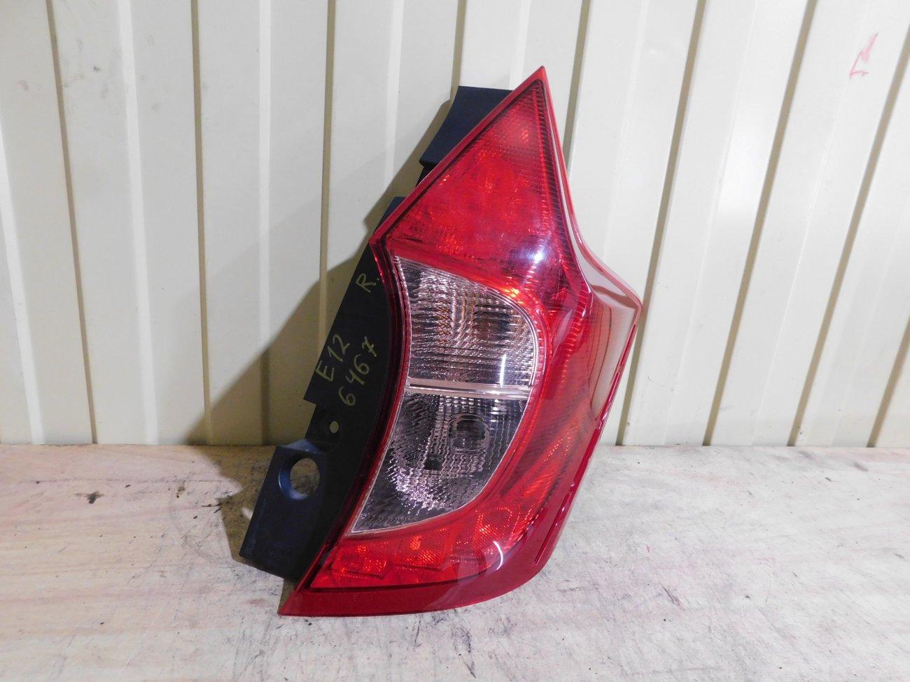 Стоп-сигнал Nissan Note E12 HR12DE задний правый (б/у)