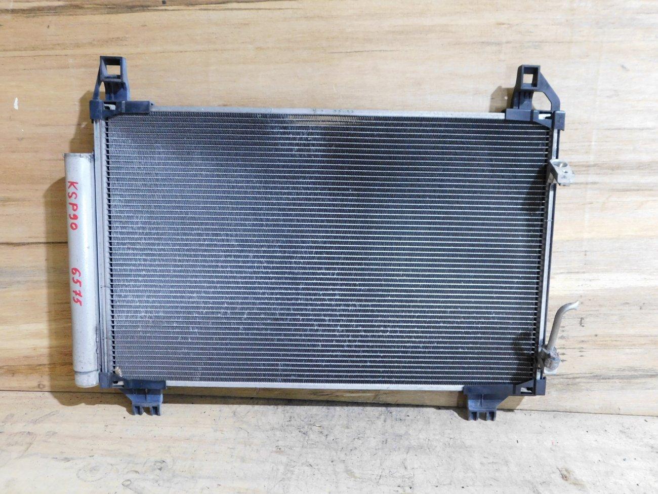 Радиатор кондиционера Toyota Vitz KSP90 1KR-FE (б/у)