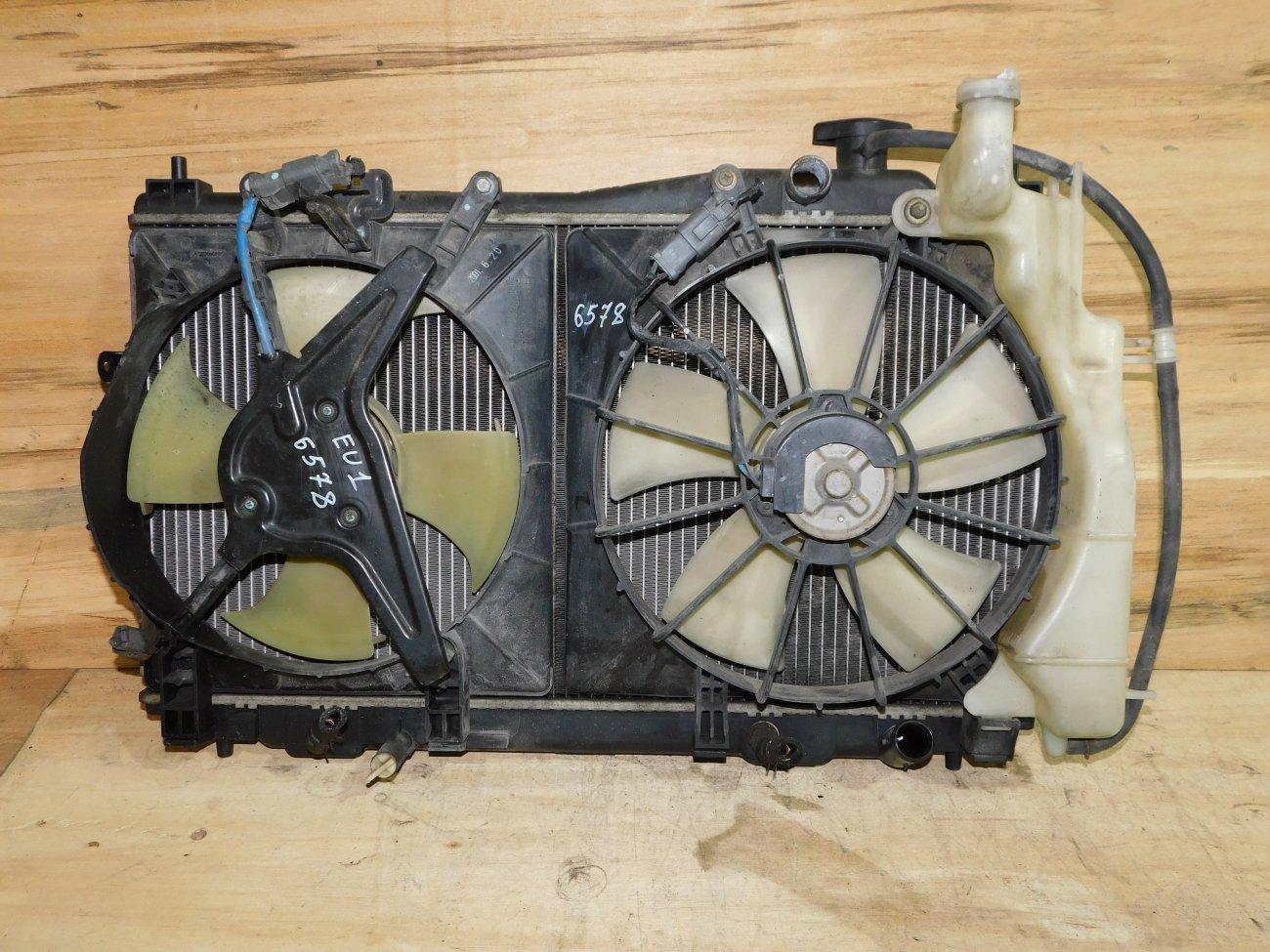 Радиатор основной Honda Civic EU1 D15B (б/у)