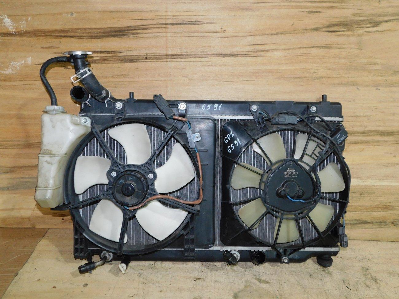 Радиатор основной Honda Fit GD1 L13A (б/у)