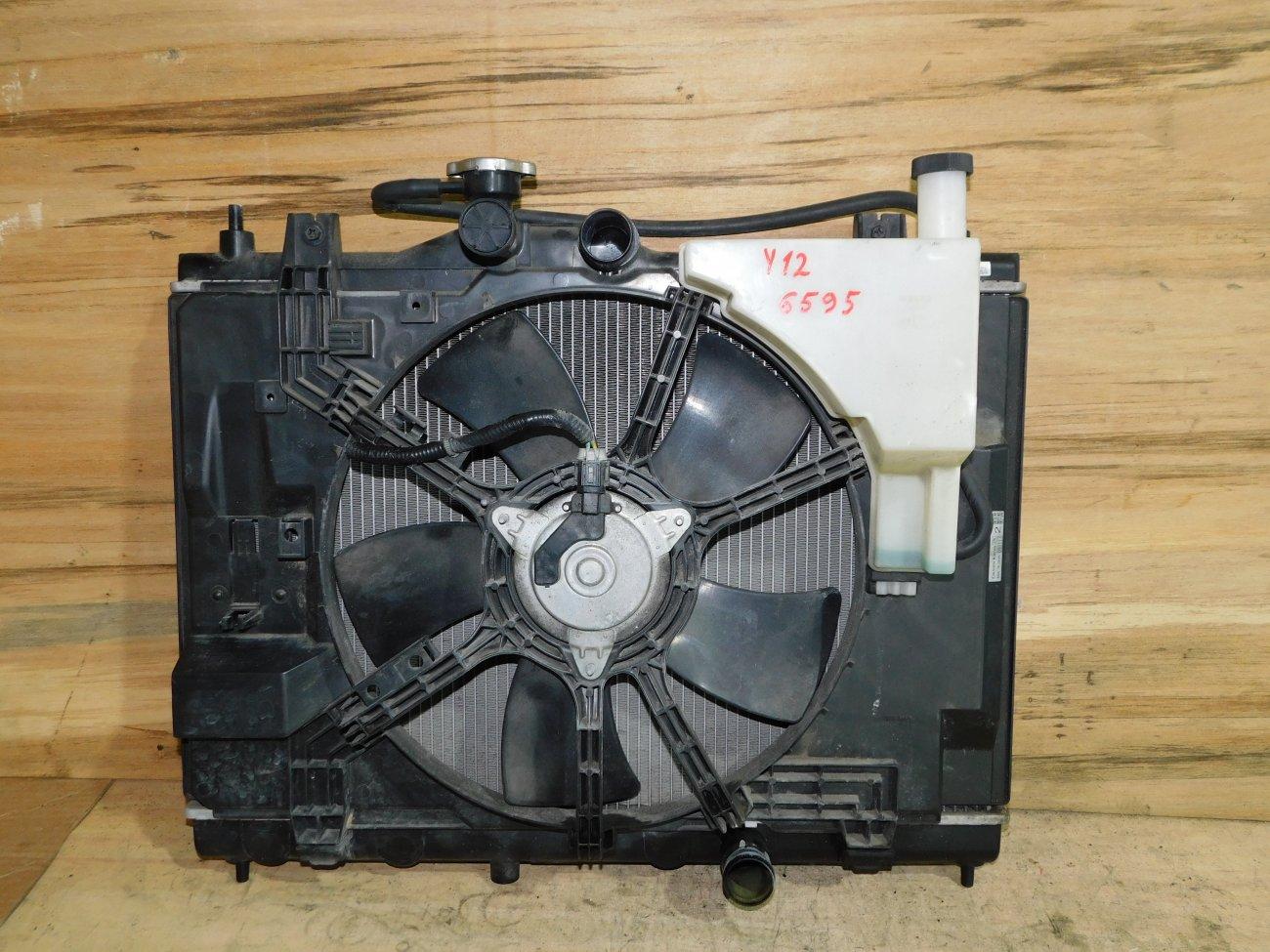 Радиатор основной Nissan Wingroad Y12 HR15DE (б/у)