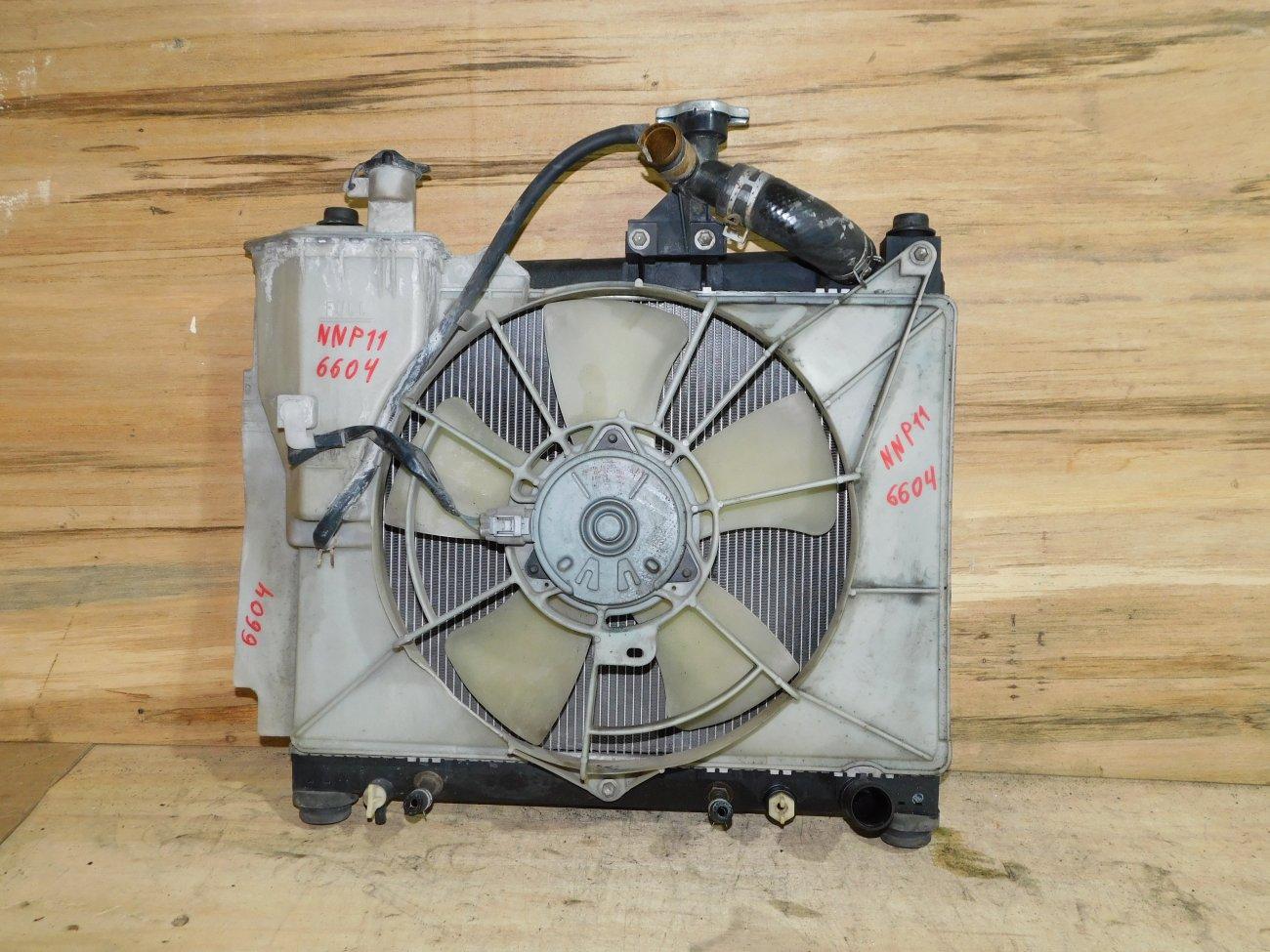 Радиатор основной Toyota Porte NNP11 1NZ-FE (б/у)