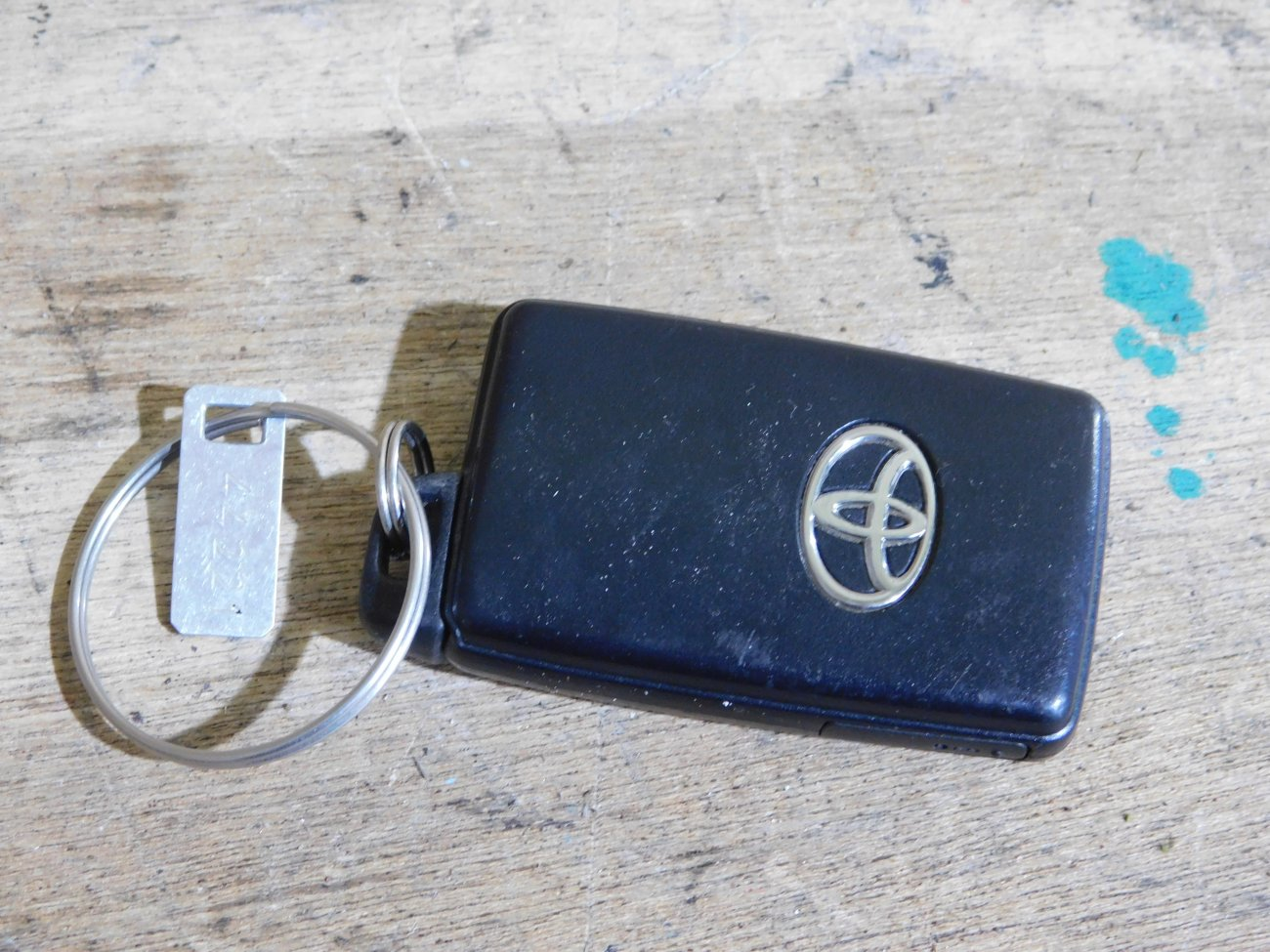 Ключ зажигания Toyota Vitz KSP90 1KR (б/у)
