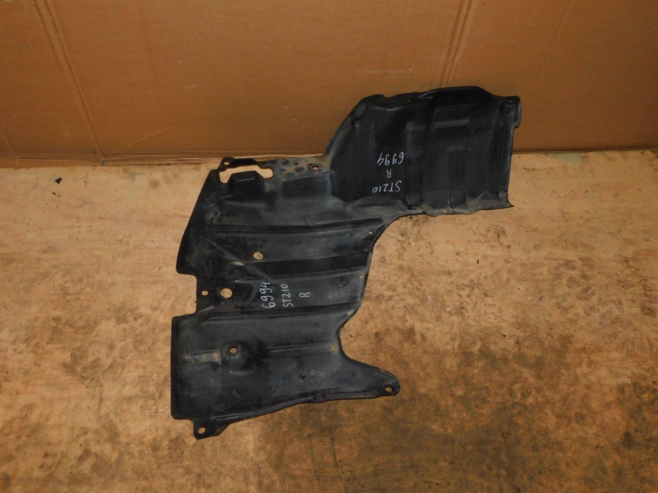 Защита двигателя Toyota Corona Premio ST210 3S-FSE правая (б/у)