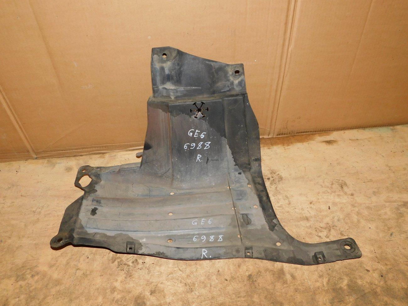Защита двигателя Honda Fit GE6 L13A правая (б/у)