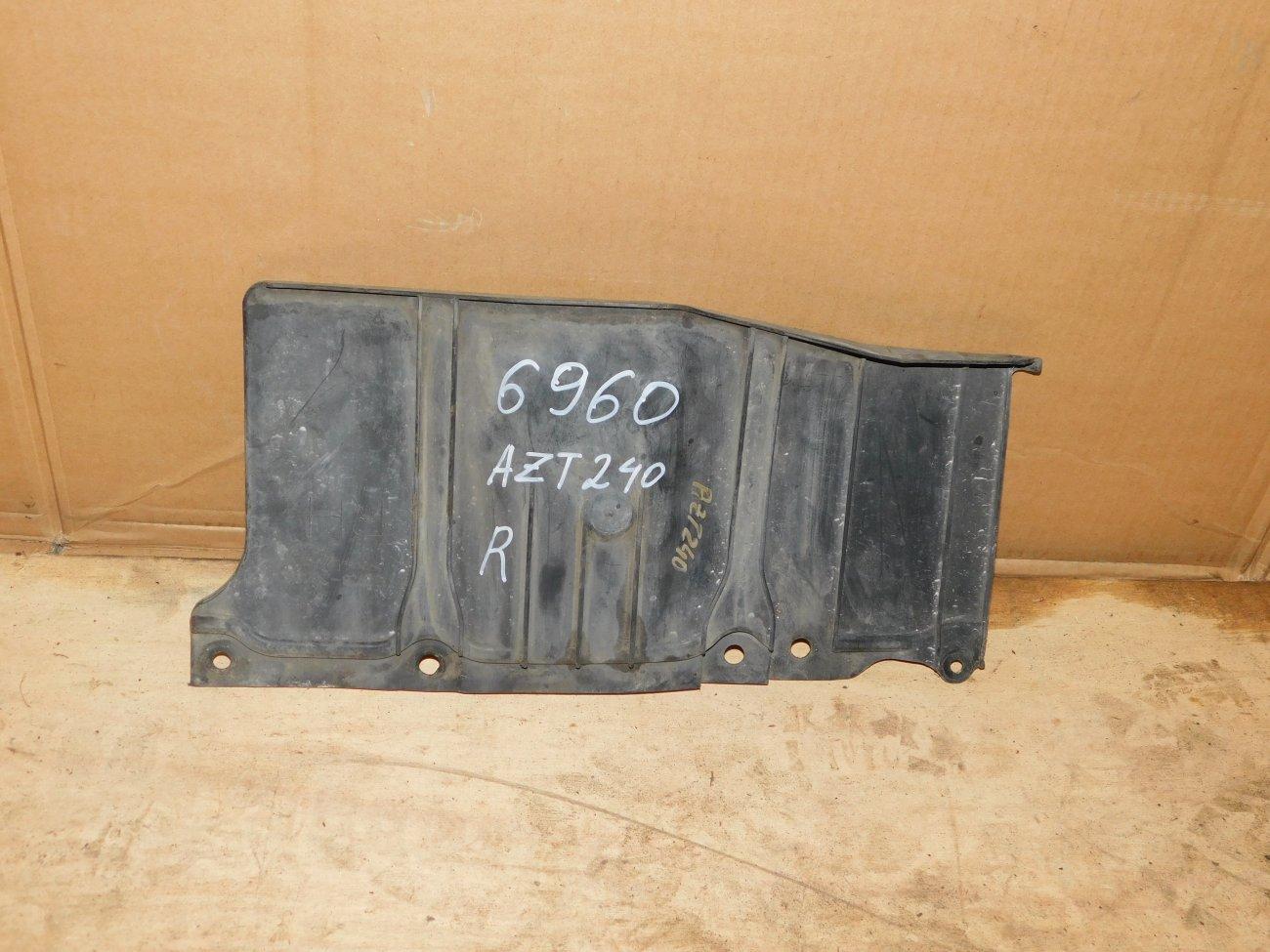 Защита двигателя Toyota Allion AZT240 1AZ-FSE правая (б/у)