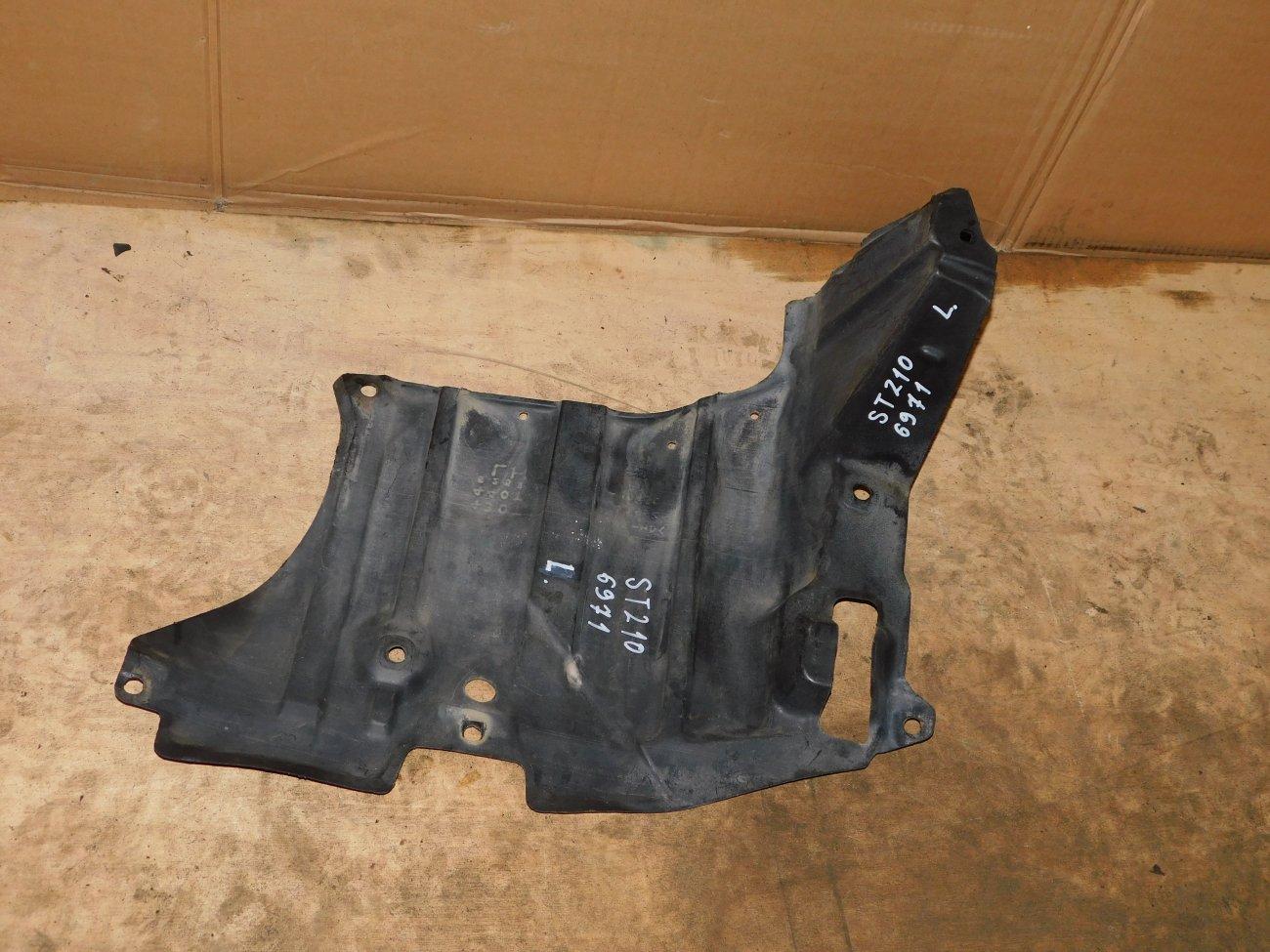 Защита двигателя Toyota Corona Premio ST210 3S-FSE левая (б/у)