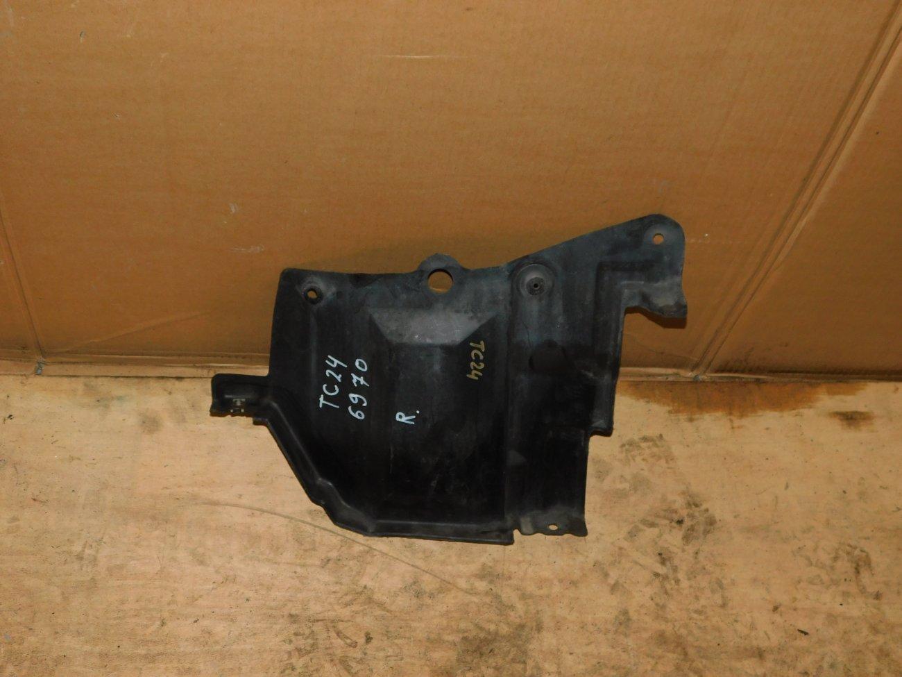 Защита двигателя Nissan Serena TC24 QR20DE правая (б/у)