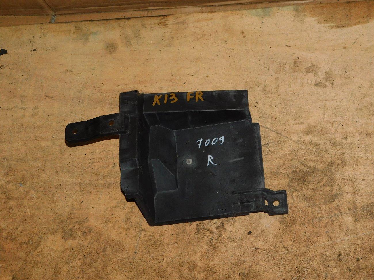 Защита радиатора Nissan March K13 HR12DE правая (б/у)