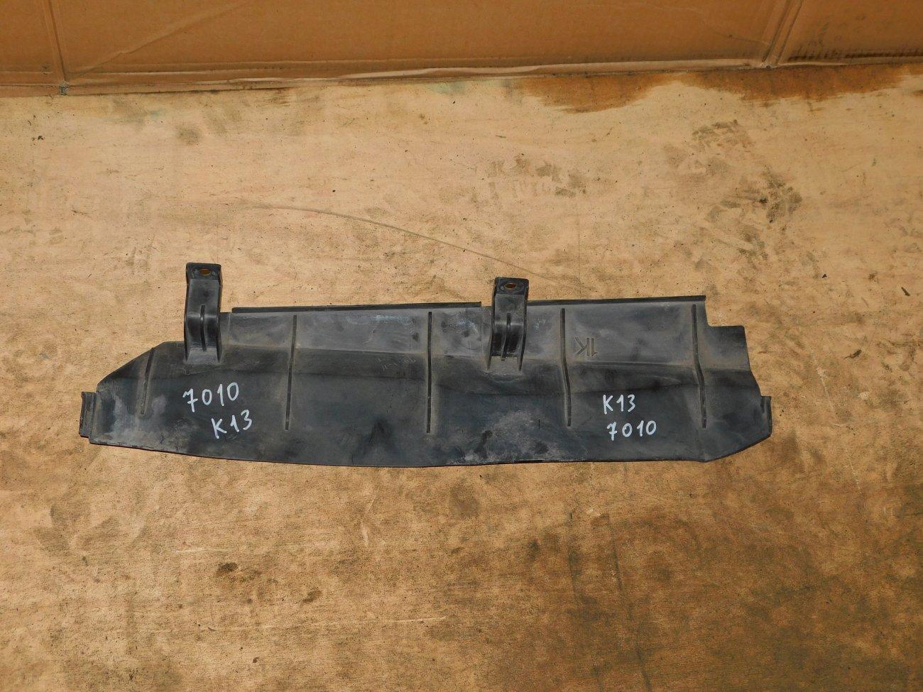 Защита радиатора Nissan March K13 HR12DE (б/у)