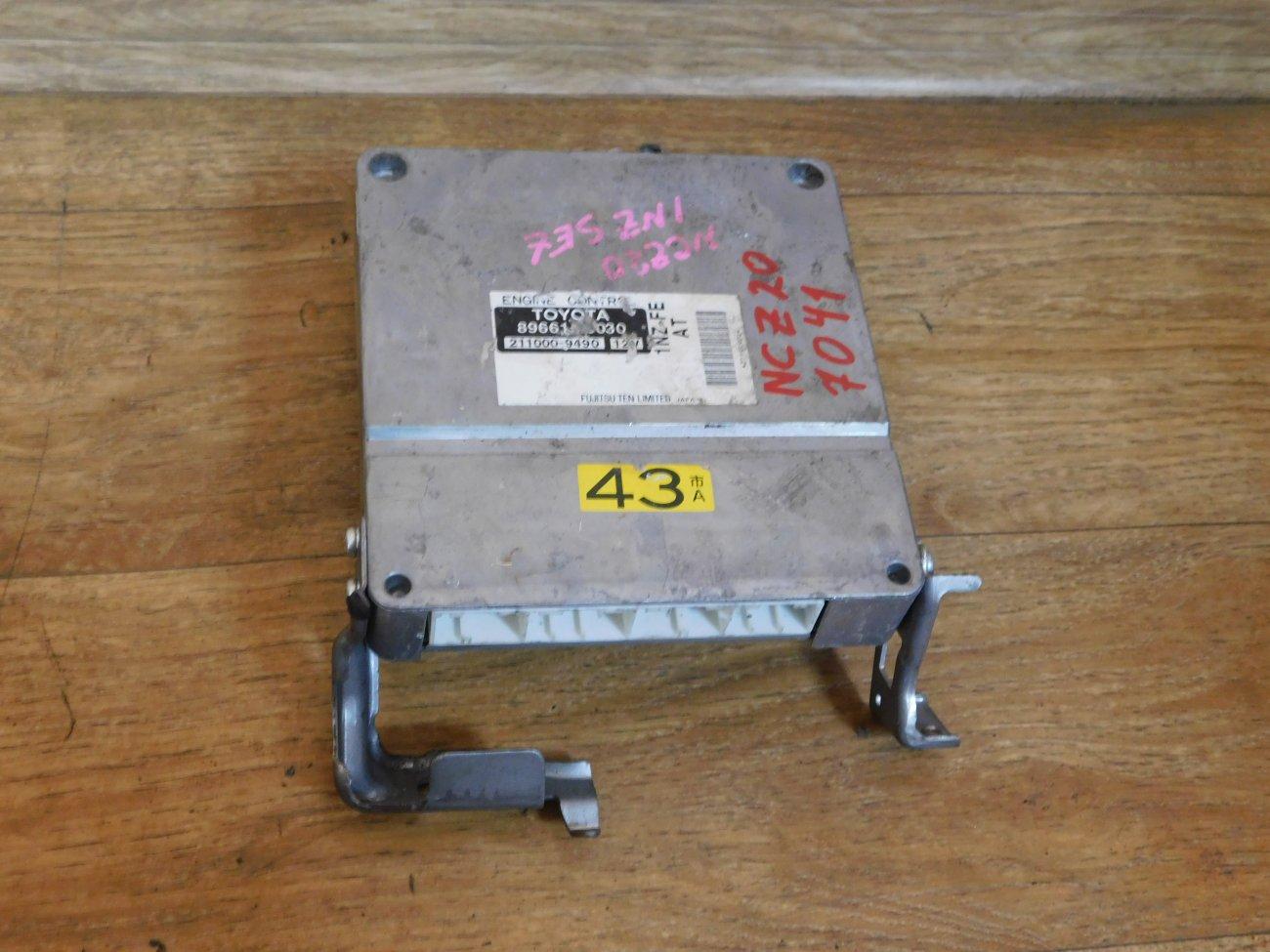Блок управления efi Toyota Raum NCZ20 1NZ-FE (б/у)