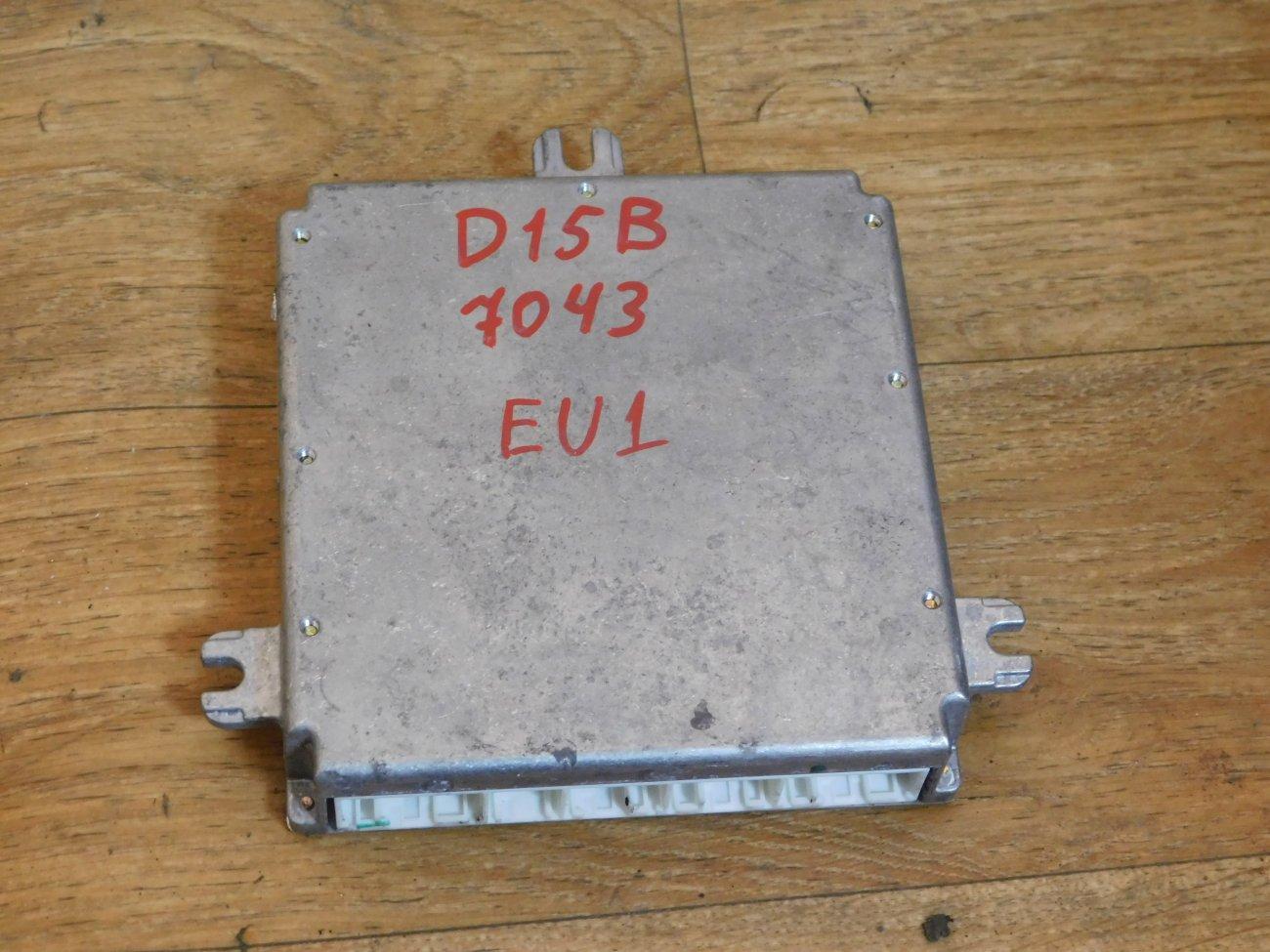 Блок управления efi Honda Civic EU1 D15B (б/у)
