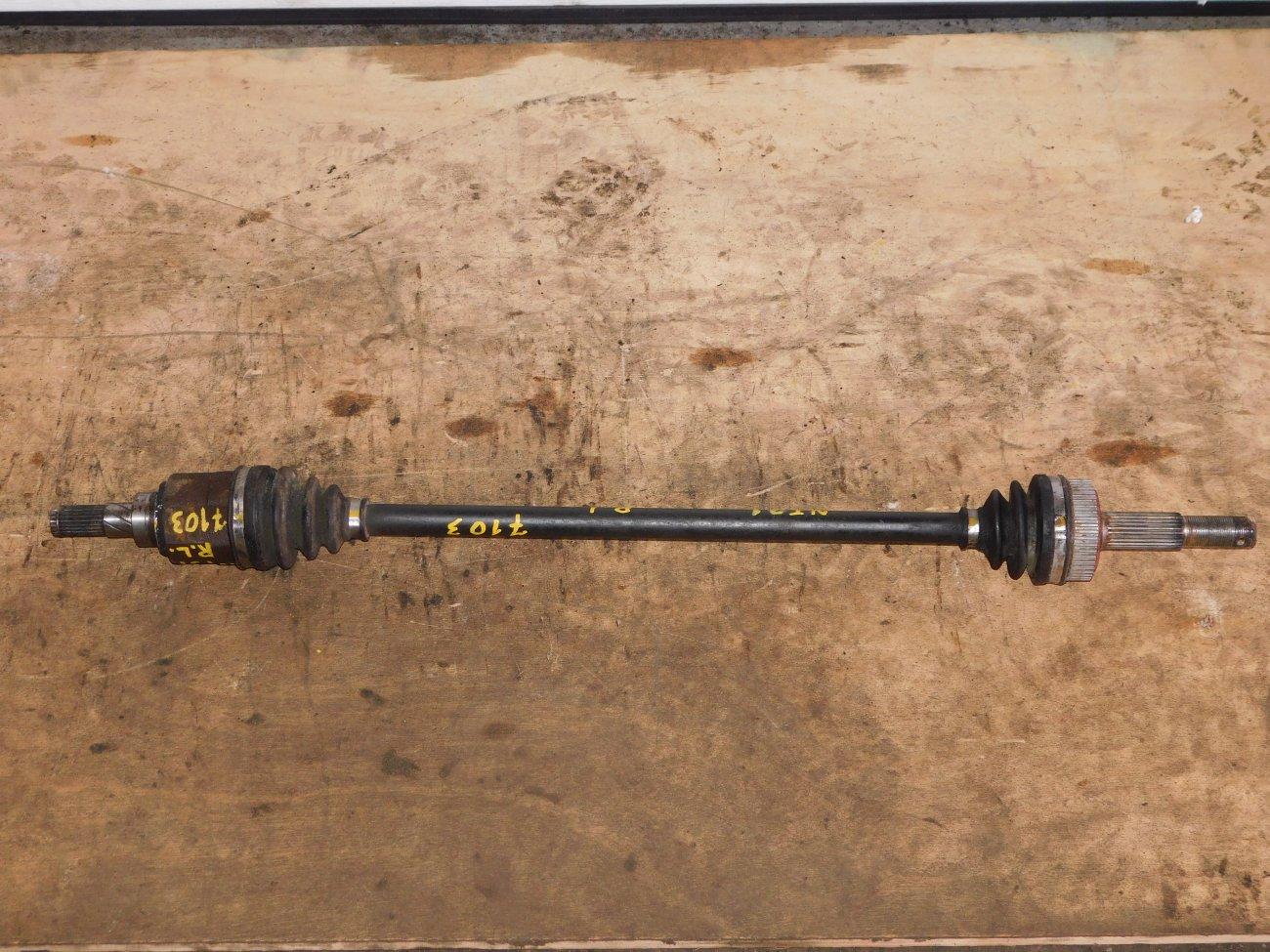Привод Nissan X-Trail NT31 QR20DE задний левый (б/у)