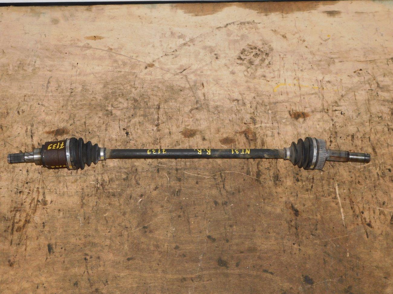 Привод Nissan X-Trail NT31 MR20DE задний правый (б/у)