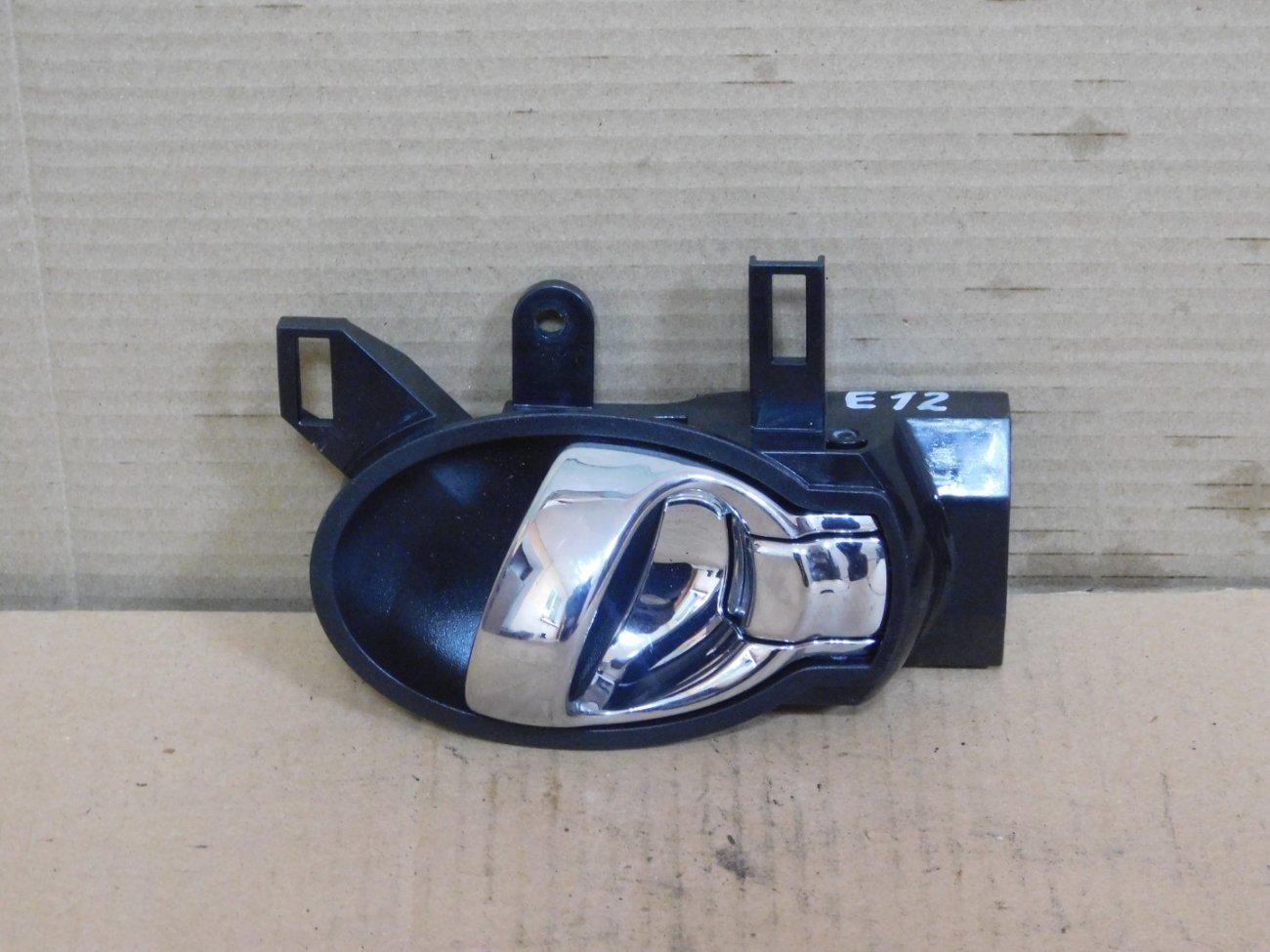 Ручка двери внутренняя Nissan Note E12 задняя левая (б/у)