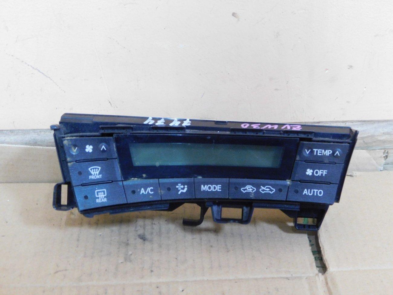Климат-контроль Toyota Prius ZVW30 2ZR FXE (б/у)
