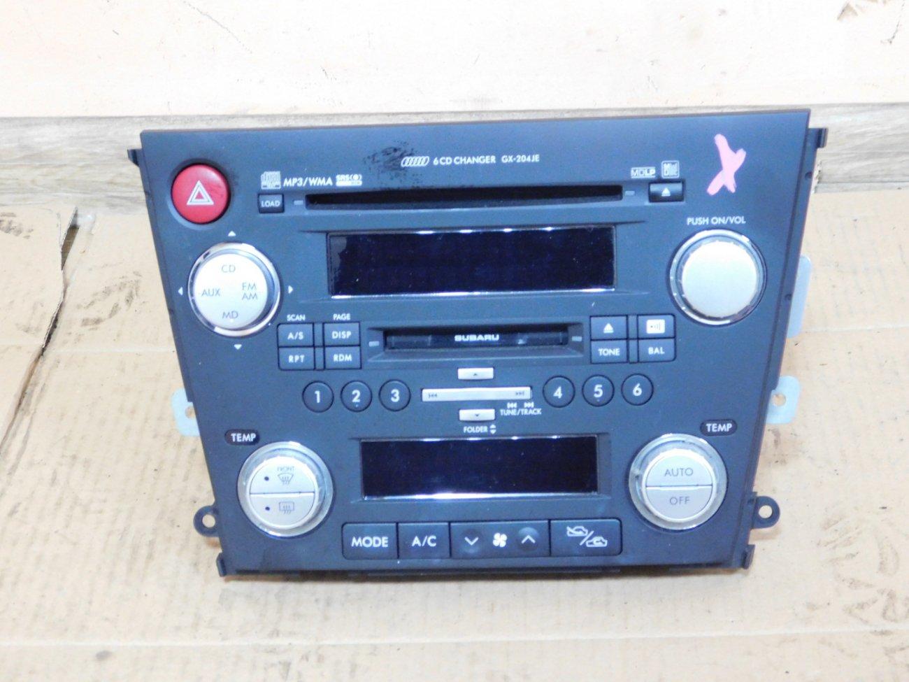 Магнитофон Subaru Legacy BL5 EJ203 (б/у)