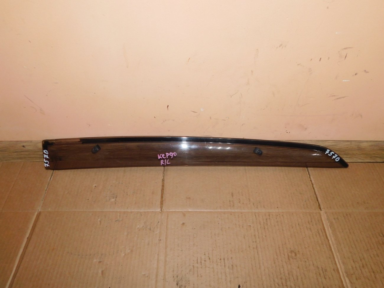 Ветровик Toyota Vitz KSP90 1KR-FE задний левый (б/у)