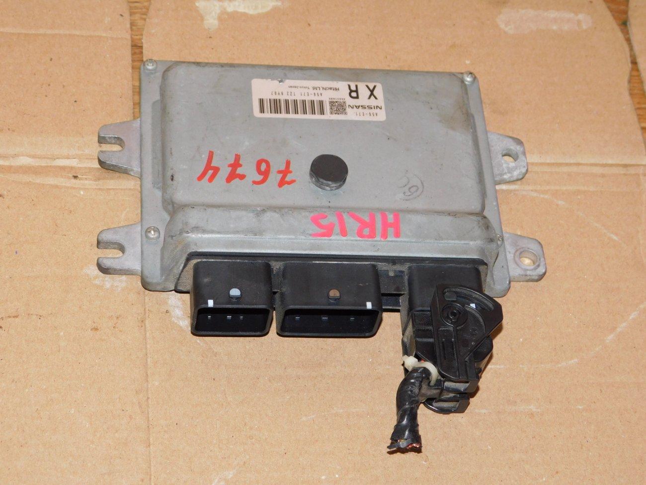Блок управления efi Nissan Wingroad Y12 HR15DE (б/у)