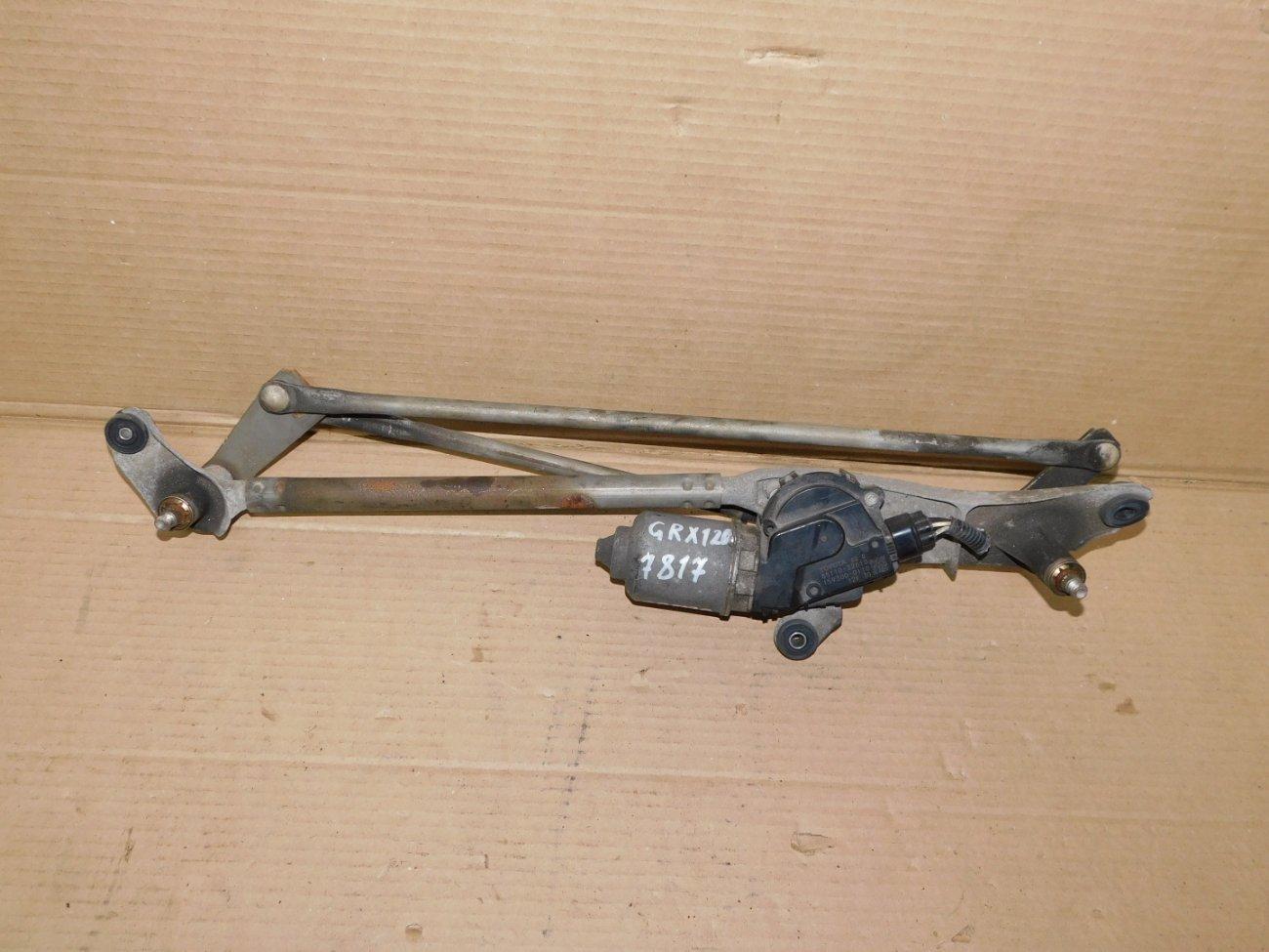 Мотор дворников Toyota Mark X GRX120 передний (б/у)