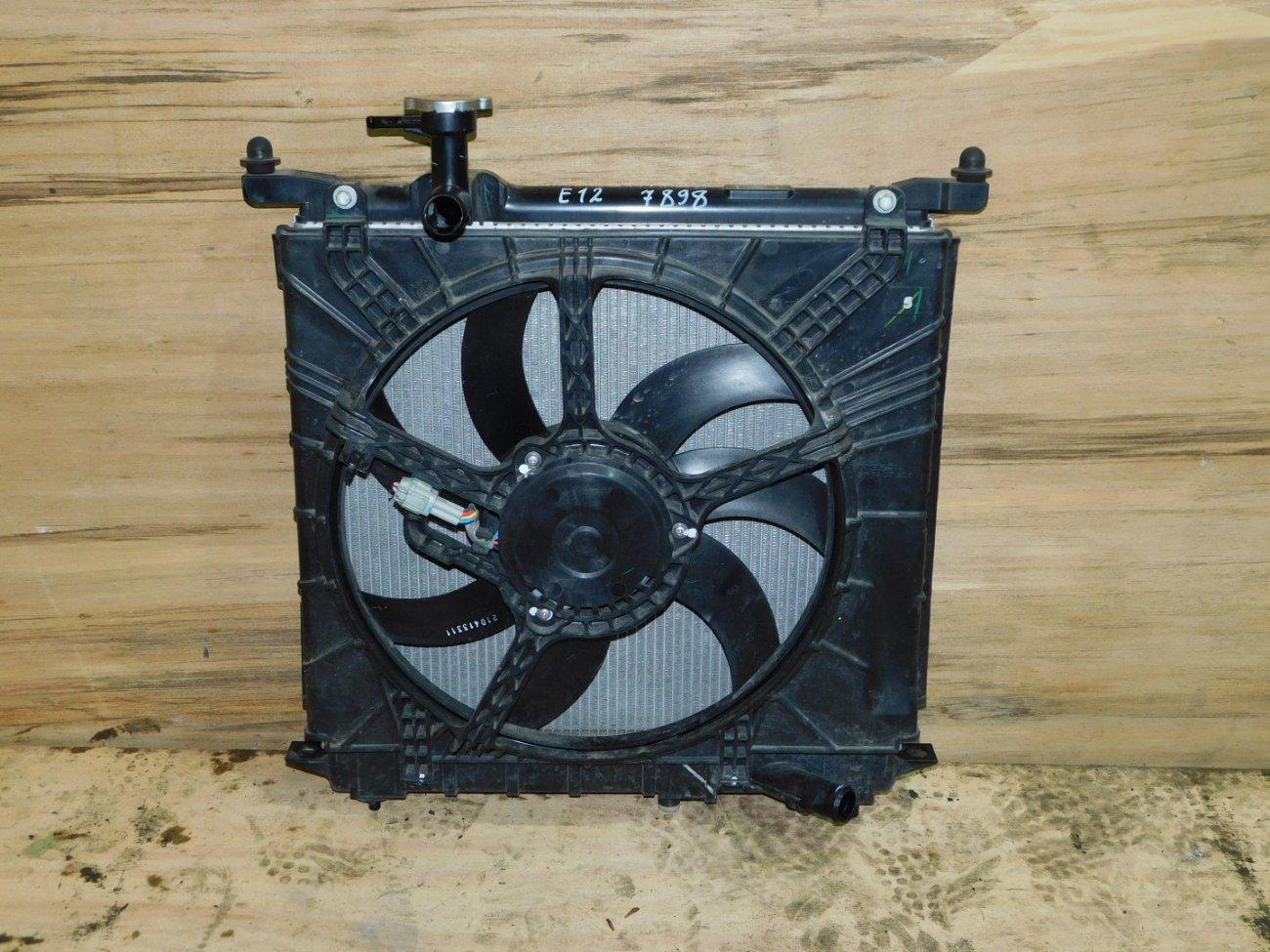 Радиатор основной Nissan Note E12 HR12DE (б/у)