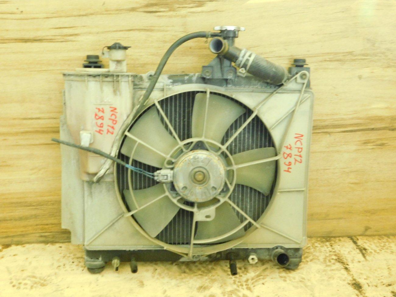 Радиатор основной Toyota Platz NCP12 1NZ-FE (б/у)