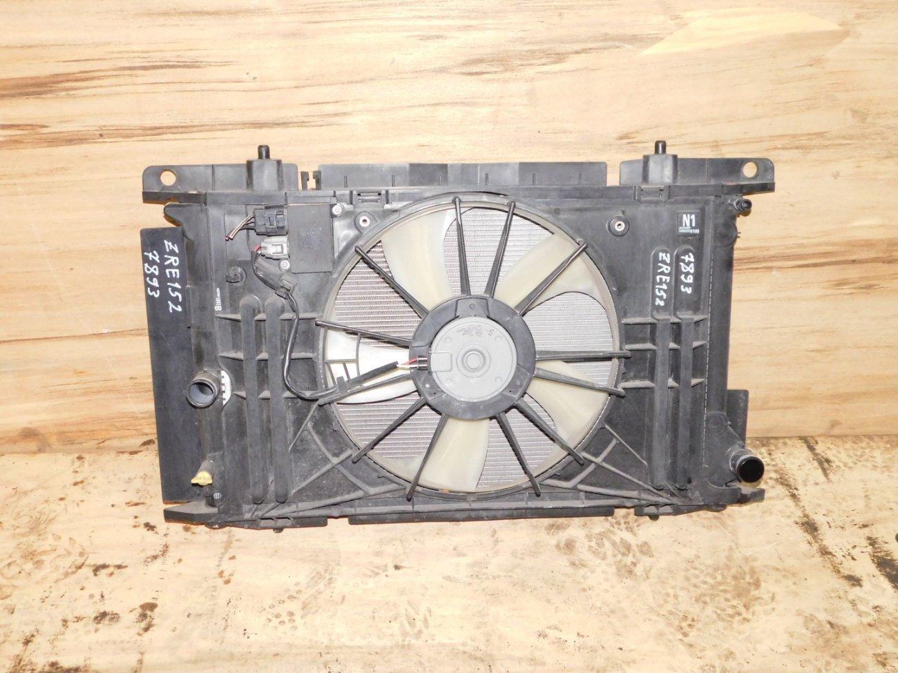 Радиатор основной Toyota Corolla Rumion ZRE152 2ZR (б/у)