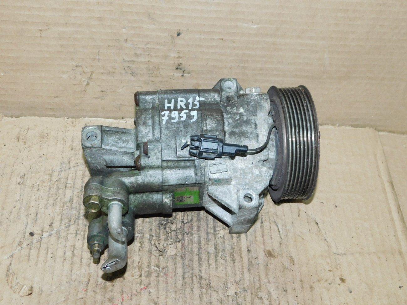 Компрессор кондиционера Nissan Note E11 HR15DE (б/у)