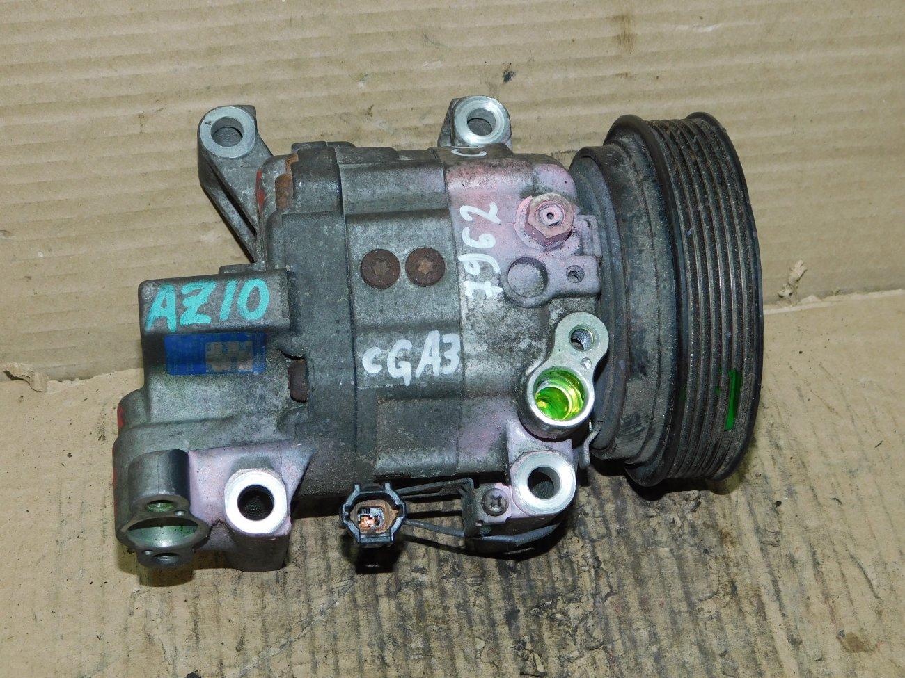 Компрессор кондиционера Nissan Cube AZ10 CGA3 (б/у)