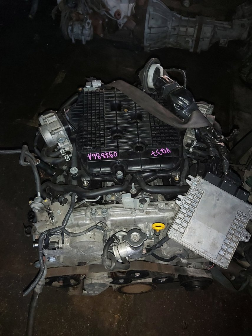 Двигатель Infiniti Qx37 VQ37VHR (б/у)