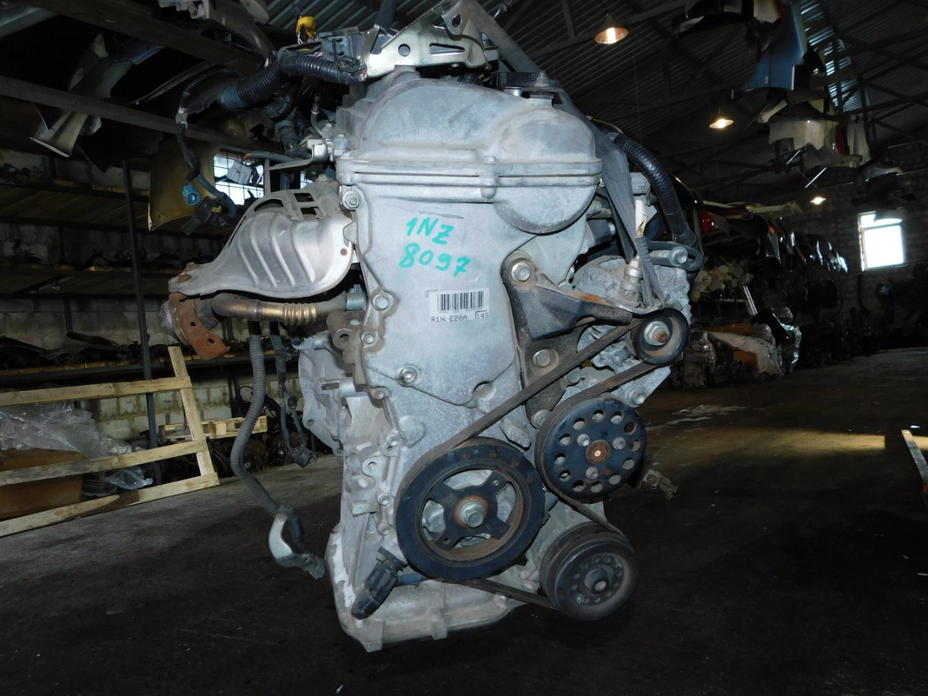 Двигатель Toyota Corolla Axio NZE144 1NZ-FE (б/у)