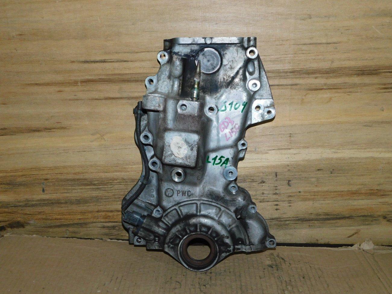 Лобовина двс Honda Fit GD3 L15A (б/у)
