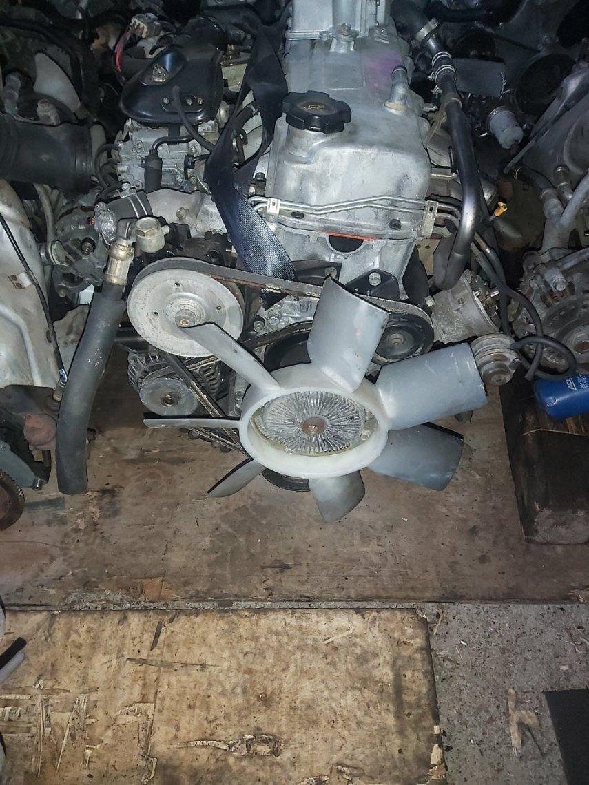Двигатель Nissan Vanette C22 NA20 (б/у)
