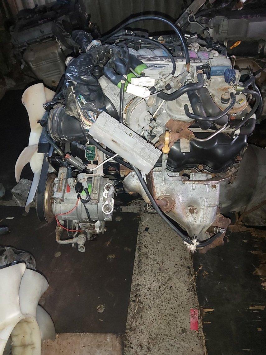 Двигатель Isuzu Elf NHR69 4JG2 (б/у)