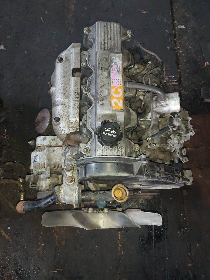 Двигатель Toyota Town Ace CR36 2C (б/у)