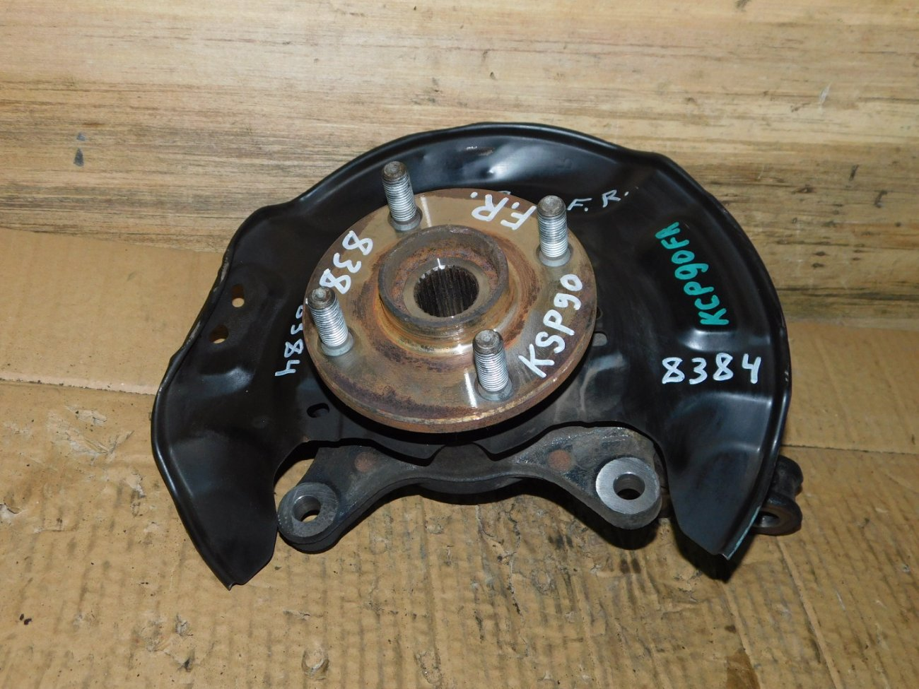 Ступица Toyota Belta NCP96 1KR-FE передняя правая (б/у)